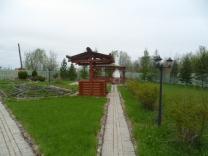Деревянный колодец из Архангельского леса