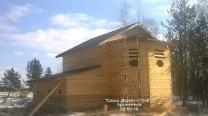 Дома из бруса, сделанные мастерами Север-Дерево-Строй в Архангельске