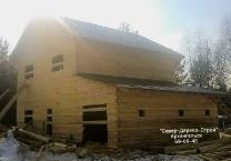 Дома из бруса, сделанные мастерами Север-Дерево-Строй под Архангельском