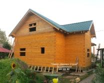 Дома из бруса, сделанные работниками Север-Дерево-Строй_2