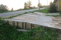 Подъездные пути на дачу, сделанные работниками Север-Дерево-Строй_3